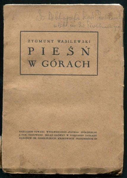 Wasilewski Zygmunt - Pieśń w górach.