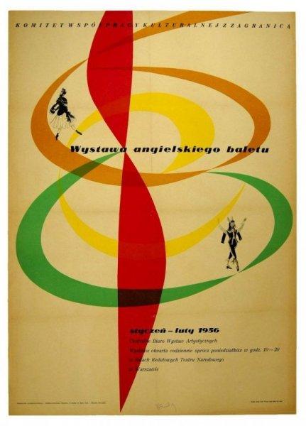 Zamecznik Wojciech - Wystawa angielskiego baletu. 1956.