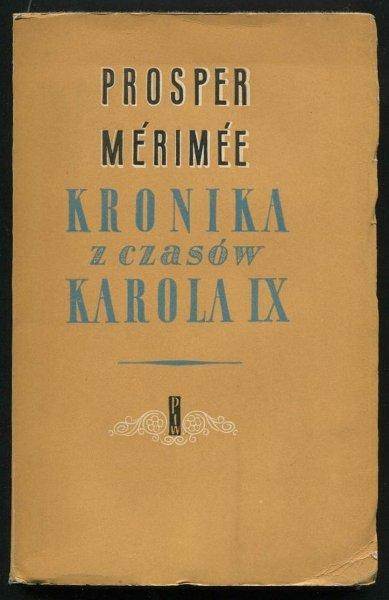 Merimee Prosper - Kronika z czasów Karola IX.