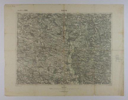 Rohatyn - mapa 1:75 000