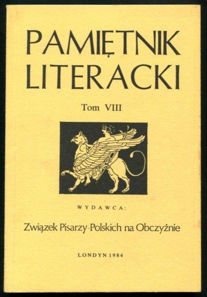 Pamiętnik Literacki. T. 8.