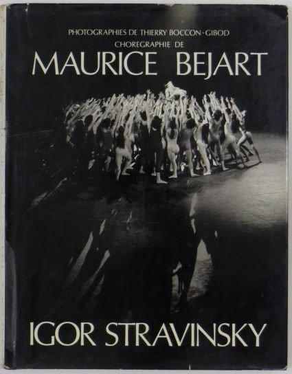 BOCCON-GIBOD Thierry - Maurice Bejart, Igor Stravinsky. Ballets de Opera de Paris