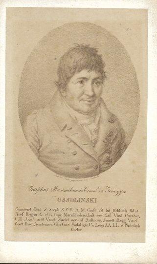 [Ossoliński Józef Maksymilian] - fotografia portretowa wykonana najprawdopodobniej w atelier Ignacego Kriegera w Krakowie.