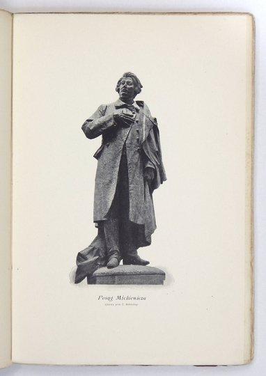 WASILEWSKI Zygmunt - Pomnik Mickiewicza w Warszawie 1897-1898.