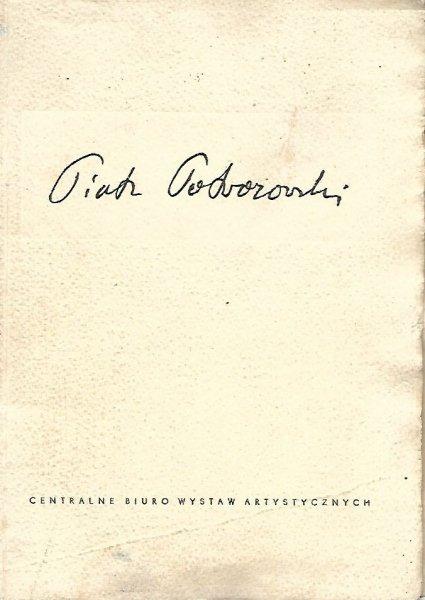 [katalog]. Związek Polskich Artystów Plastyków, Centralne Biuro Wystaw Artystycznych. Piotr Potworowski (Londyn), VI 1958