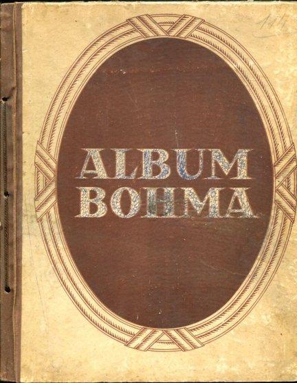 Album Bohma. Kolekcja kawy Bohm: Poczet królów Polski [S. I]. Wizxerunki sławnych Polaków [S. V]