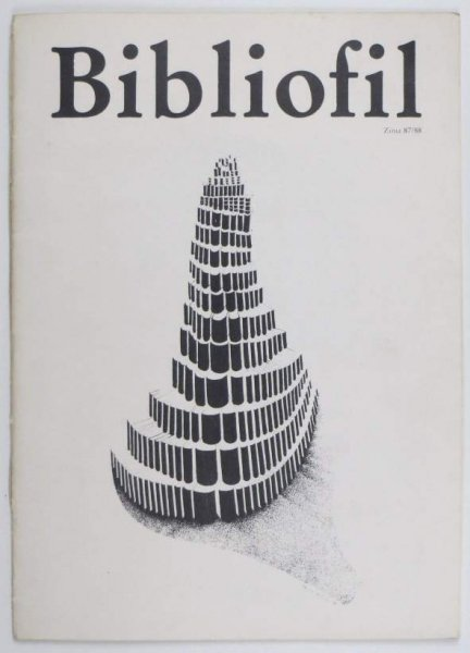 Bibliofil. Nr 1-2. 1987-1988.