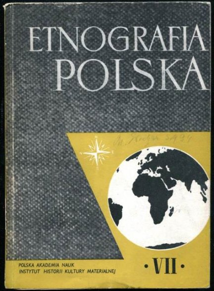 Etnografia Polska, [t.] 7.