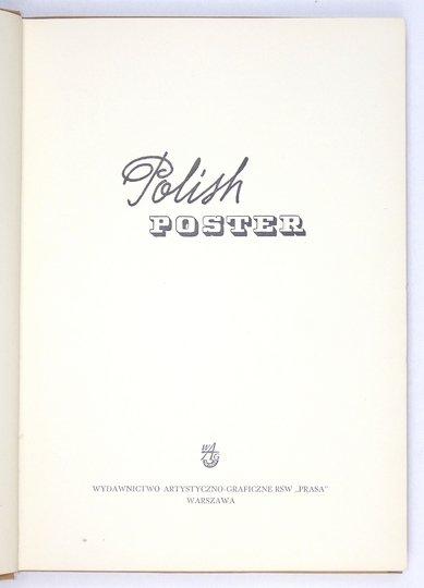 SZEMBERG Henryk - Polish Poster. Editor ... Designed by Józef Mroszczak, Bolesław Penciak.