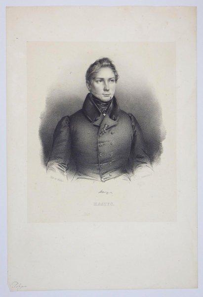 [POWSTANIE LISTOPADOWE] Kaszyc - portret - litografia [1832]