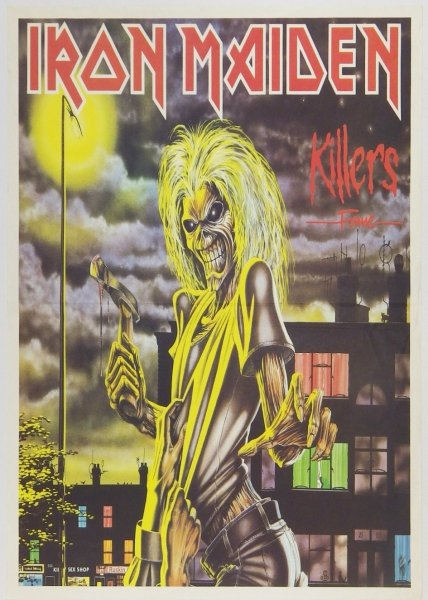 Iron Maiden. Killers - Fame - plakat