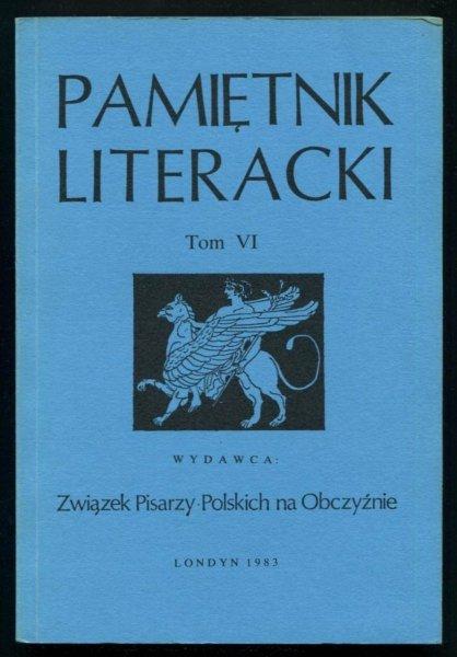 Pamiętnik Literacki. T. 6.