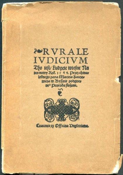 Rombowski Aleksander -  Ludycje wiesne. Zabytek literatury ludowej z połowy XVI wieku