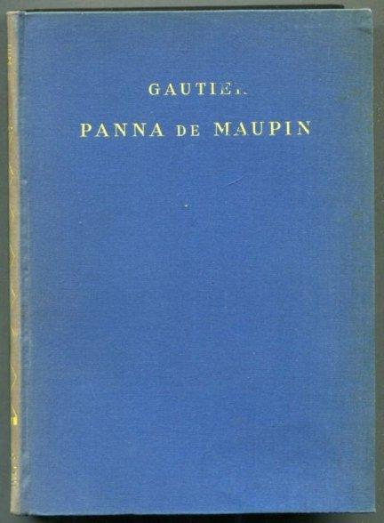 Gautier Teofil - Panna de Maupin. Wyd. nowe