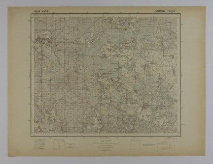 Białowieża - mapa 1:100 000