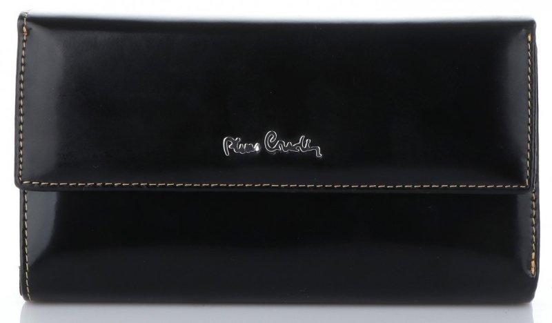 66f55e0eacab6 Klasyczny Skórzany Portfel Męski firmy Pierre Cardin Czarny ...