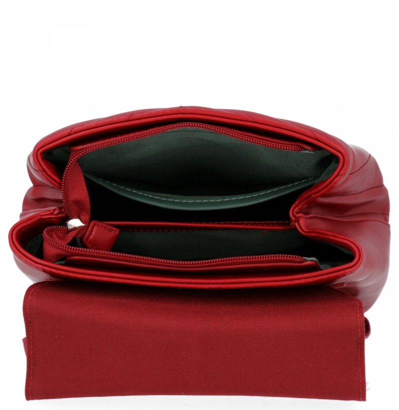 Plecak damski David Jones Czerwony