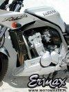 Pług owiewka spoiler silnika ERMAX BELLY PAN Yamaha FZS 1000 FAZER 2001 - 2005