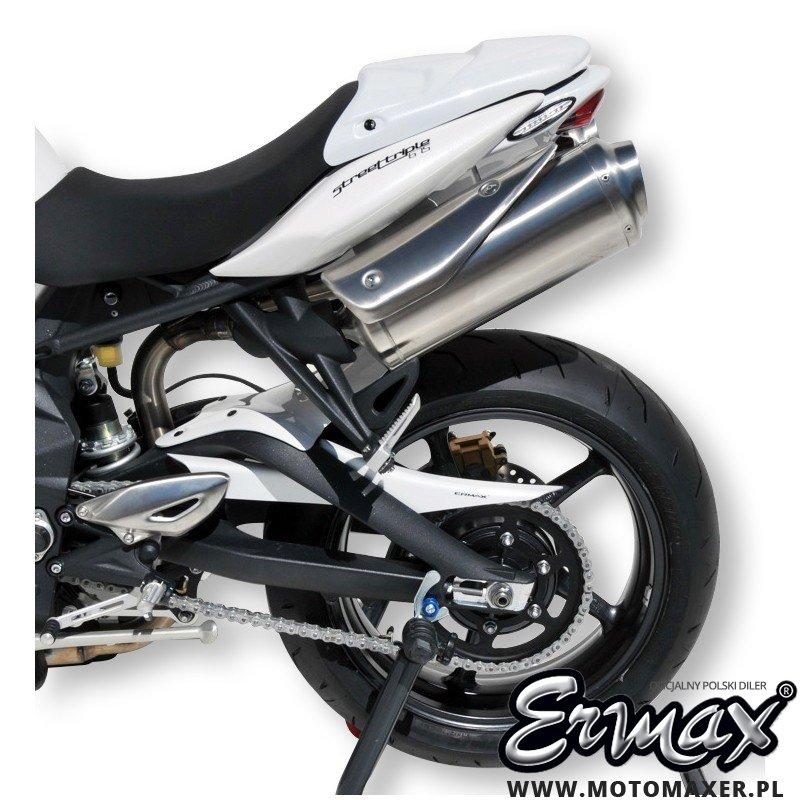 Błotnik tylny i osłona łańcucha ERMAX REAR HUGGER Triumph Street Triple 675 R 2012