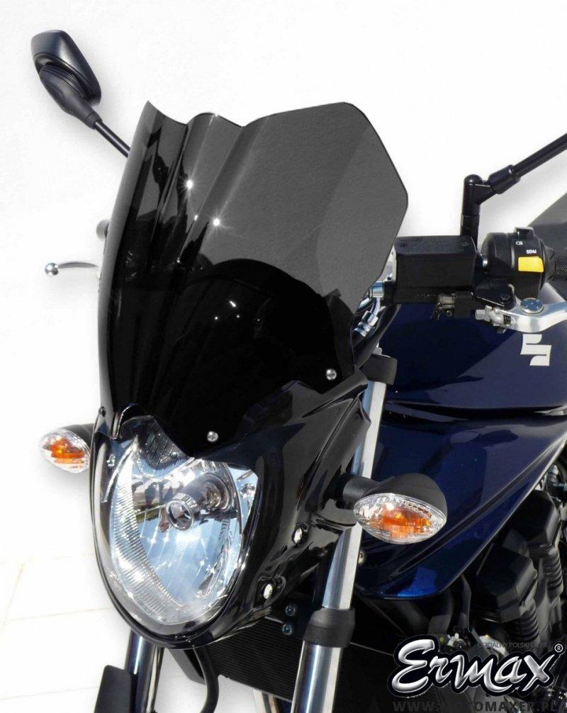 Szyba / owiewka ERMAX NOSE FAIRING 24 cm Suzuki GSF 650 BANDIT N 2009 - 2015