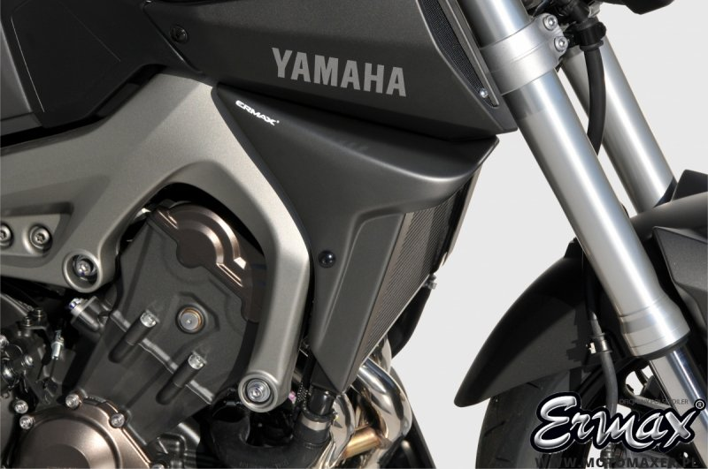 Wloty powietrza osłona chłodnicy AIR SCOOPS ERMAX Yamaha MT-09 2014 - 2019