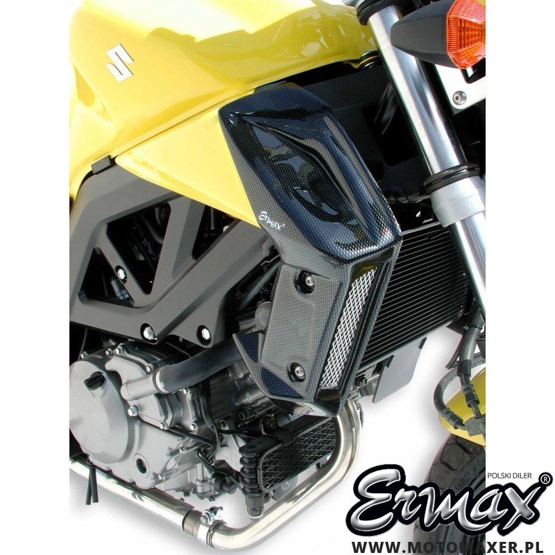 Wloty powietrza osłona chłodnicy AIR SCOOP ERMAX 8 kolorów
