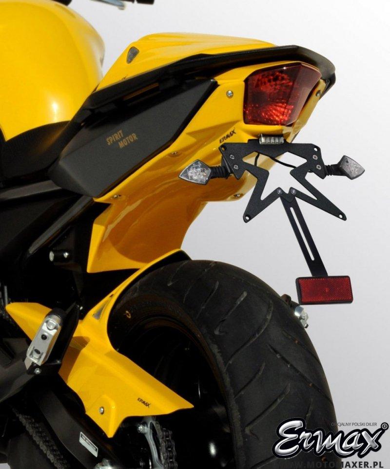 Mocowanie tablicy rejestracyjnej ERMAX UNDERTAIL Yamaha XJ6N 2009 - 2012