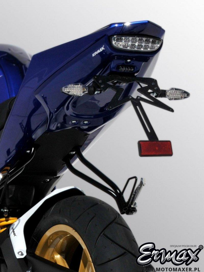 Mocowanie tablicy rejestracyjnej ERMAX UNDERTAIL Yamaha YZF R125 2008 - 2014