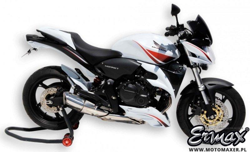 Mocowanie rejestracji + wypełnienie zadupka ERMAX UDT FENDER ELIMINATOR Honda CB600 HORNET 2007 - 2010