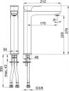 ARMATURA KRAKÓW - MOKAIT bateria umywalkowa nablatowa stojąca 5532-612-00