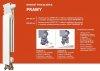 ARMATURA KRAKÓW - Skompletuj swój zestaw GRZEJNIKOWY z DOLNYM ZASILANIEM G500F 789-100-44 grzejnik