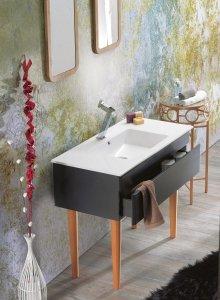 CERASTYLE Umywalka ceramiczna IBIZA 100cm