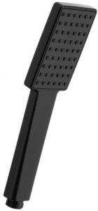 ARMATURA KRAKÓW KFA Rączka słuchawka natryskowa 1-funkcyjna prostokątna LOGON BLACK 842-069-81