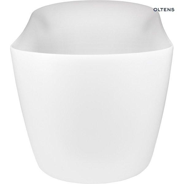 OLTENS Wanna wolnostojąca GOCTA 170x78 cm owalna akrylowa biała 12003000