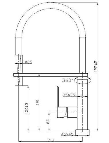 REA - Bateria kuchenna ROY