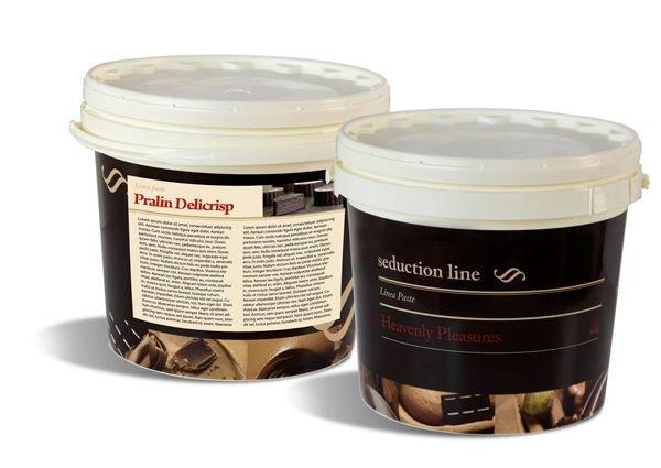 PRALIN DELICRISP CARAMEL 5kg - Delikatna pasta z dodatkiem chrupkich, maslanych Delicrisp