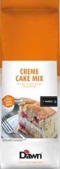 WANILIOWE CIASTO BISZKOPTOWO-TŁUSZCZOWE CREME CAKE MIX 3,5 KG