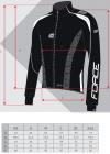 FORCE X72 PRO męska kurtka rowerowa softshell
