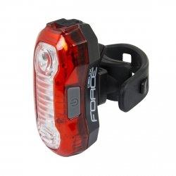 FORCE DEUX lampka tylna LED, USB