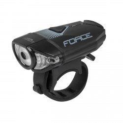 FORCE CASS Lampka przednia 300lm USB