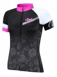 FORCE ROSE koszulka rowerowa damska