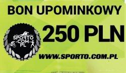 EKSKLUZYWNY BON UPOMINKOWY 250 PLN