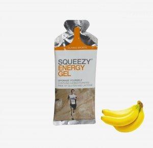 SQUEEZY Żel energetyczny banan 33g
