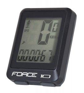 FORCE 10 licznik rowerowy przewodowy, wodoodporny