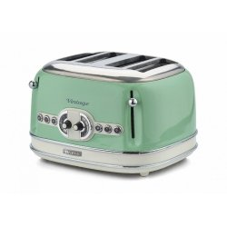 Toster Ariete Iconic Vintage Collection na 4 grzanki o mocy 1600 W zielony 156 04