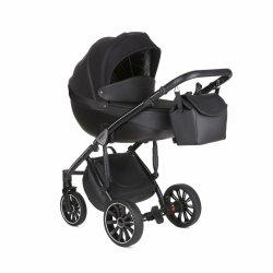 ANEX SPORT Black Ink | 2 in 1 mit Liegewanne und Sportwagen | oder 3 in 1 mit Autoschale | Kombi-Kinderwagen