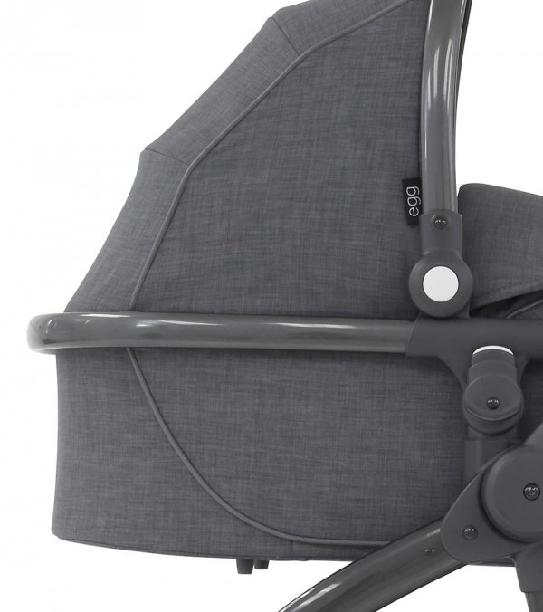 Kombikinderwagen/ Geschwisterwagen  EGG + Sitzauflage gratis  | BabyStyle | Quantum Grey