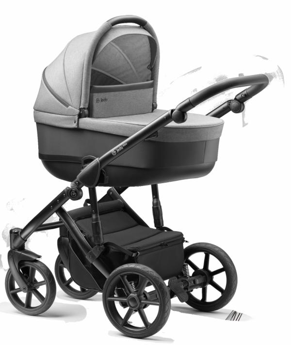 Jedo Koda V20 | Kombi Kinderwagen | Kollektion 2020 / Alu Gestell in Schwarz