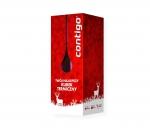 Świąteczne pudełko Christmas Box do kubka Contigo (biały-czerwony)