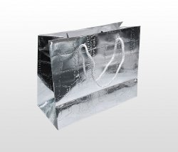Torba prezentowa 10x18x23 cm SILVER (srebrny)